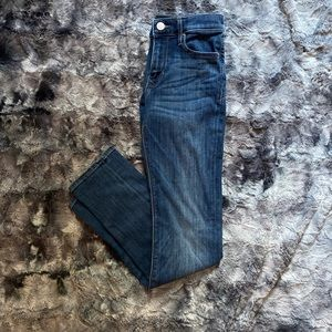 Express Mid Rise Skinny Jeans. Size 0